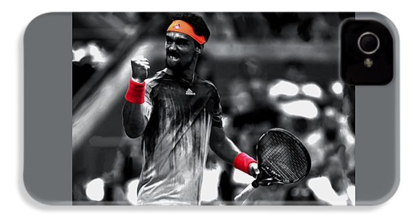 Fabio Fognini IPhone 4s Case by Brian Reaves