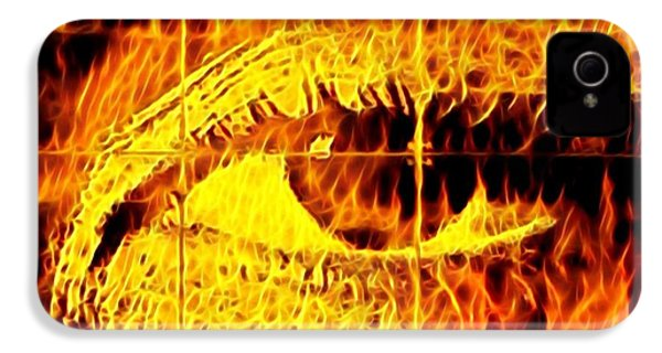 Face The Fire IPhone 4s Case