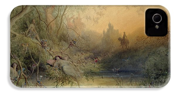 Fairy Land IPhone 4s Case by Gustave Dore