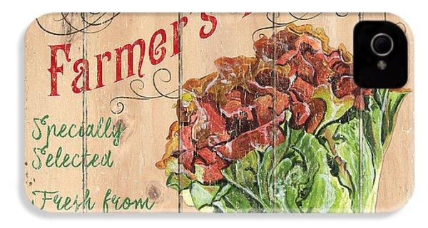 Farmer's Market Sign IPhone 4s Case by Debbie DeWitt