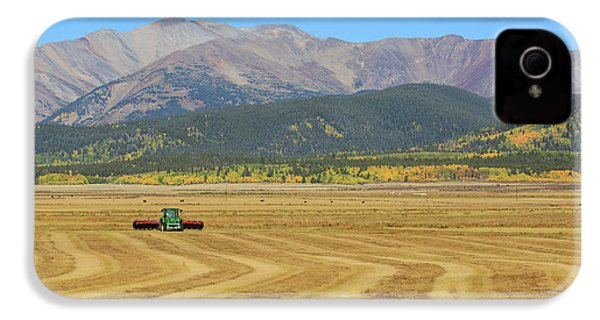 IPhone 4s Case featuring the photograph Farming In The Highlands by David Chandler