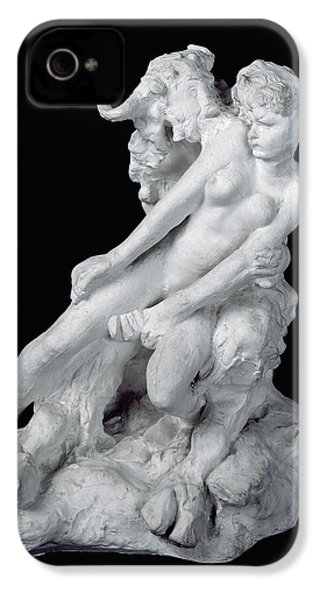 Faun And Nymph IPhone 4s Case by Auguste Rodin