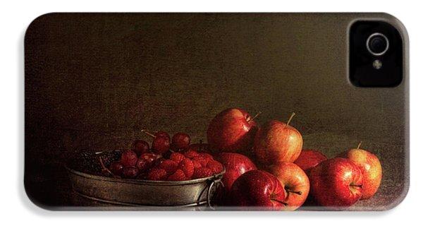 Feast Of Fruits IPhone 4s Case by Tom Mc Nemar