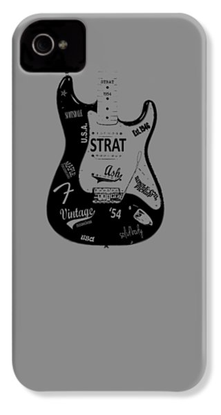 Fender Stratocaster 54 IPhone 4s Case by Mark Rogan