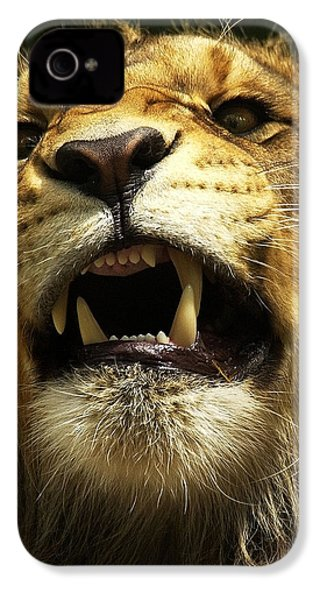 Fierce IPhone 4s Case by Wade Aiken