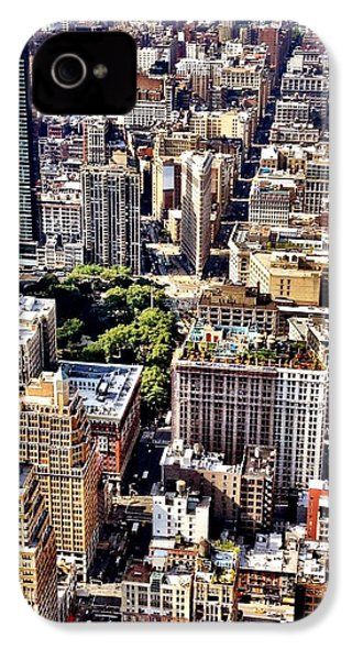Flatiron Building From Above - New York City IPhone 4s Case