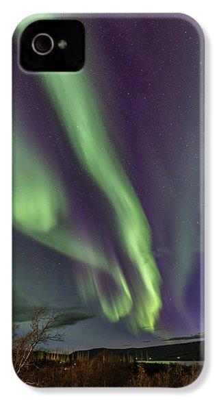 Flowing Aurora IPhone 4s Case by Hitendra SINKAR