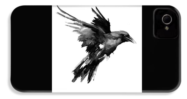 Flying Raven IPhone 4s Case by Suren Nersisyan