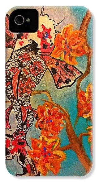Focus Flower  IPhone 4s Case by Miriam Moran