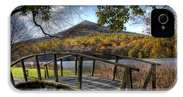 Foot Bridge IPhone 4s Case by Todd Hostetter