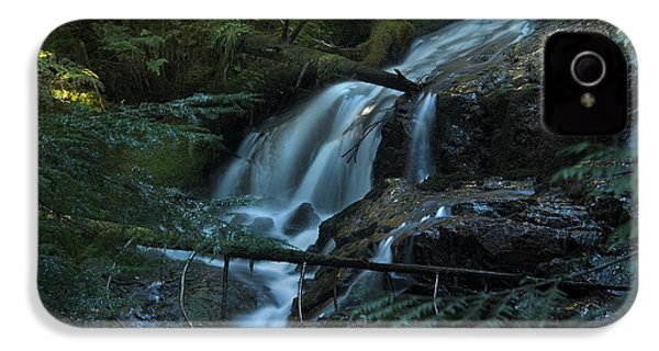 Forest Waterfall. IPhone 4s Case by Yulia Kazansky