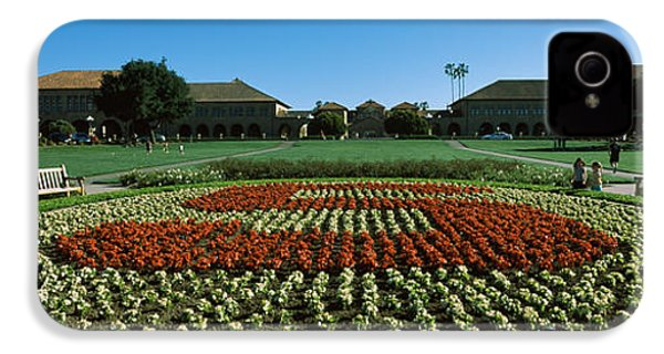 Formal Garden At The University Campus IPhone 4s Case by Panoramic Images