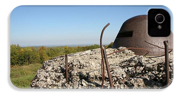 IPhone 4s Case featuring the photograph Fort De Douaumont - Verdun by Travel Pics