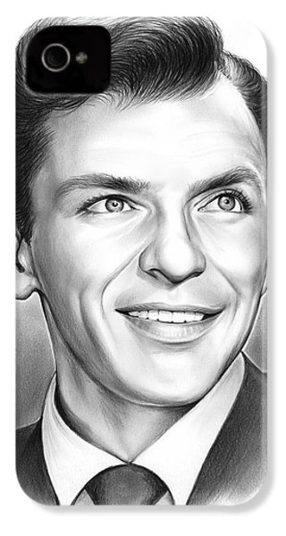 Frank Sinatra IPhone 4s Case by Greg Joens
