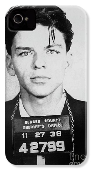 Frank Sinatra Mugshot IPhone 4s Case by Jon Neidert