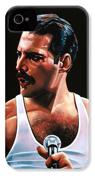 Freddie Mercury IPhone 4s Case by Paul Meijering