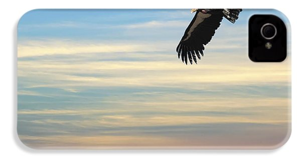 Free To Fly Again - California Condor IPhone 4s Case by Daniel Hagerman
