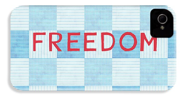 Freedom Patchwork IPhone 4s Case