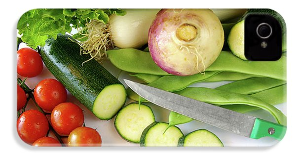 Fresh Vegetables IPhone 4s Case by Carlos Caetano