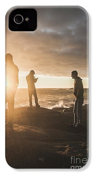 IPhone 4s Case featuring the photograph Friends On Sunset by Jorgo Photography - Wall Art Gallery
