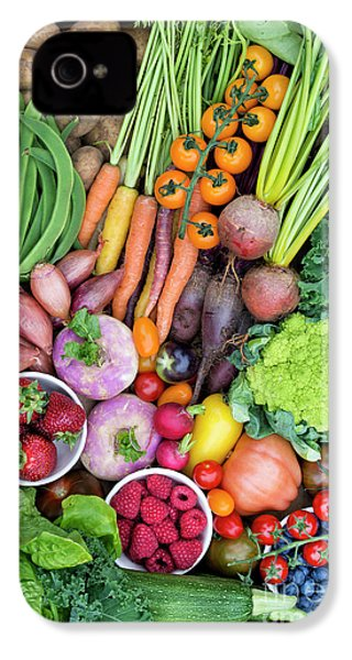 Fruit And Veg IPhone 4s Case by Tim Gainey