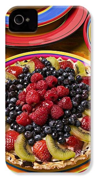Fruit Tart Pie IPhone 4s Case by Garry Gay