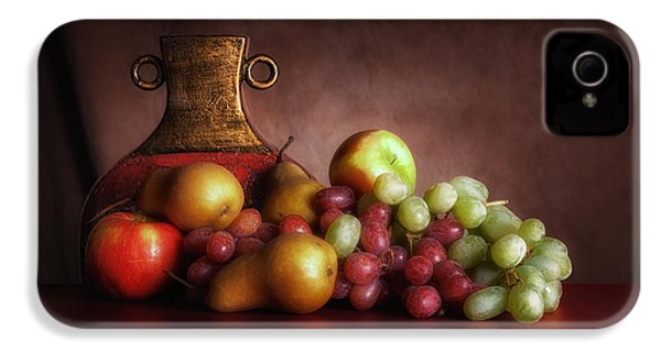 Fruit With Vase IPhone 4s Case by Tom Mc Nemar