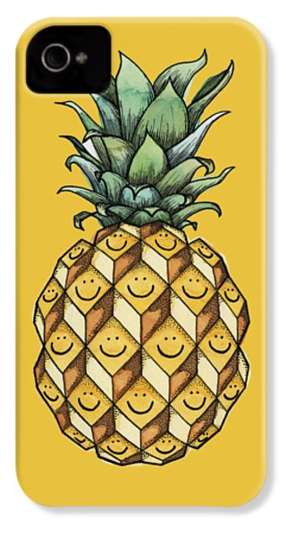Fruitful IPhone 4s Case by Kelly Jade King