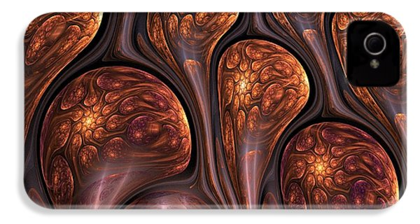 Funghi Flow IPhone 4s Case by Amorina Ashton