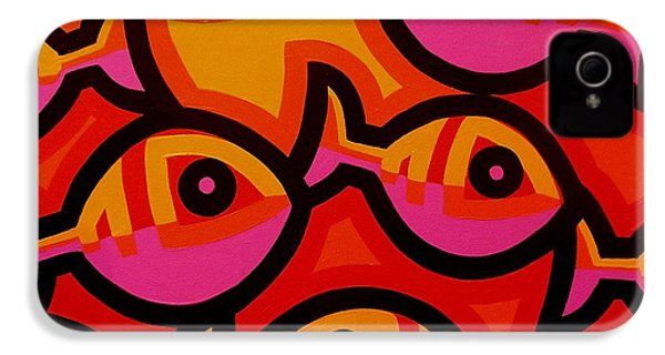 Funky Fish Iv IPhone 4s Case by John  Nolan