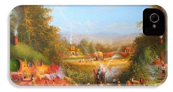 Gandalf's Return Fireworks In The Shire. IPhone 4s Case by Joe  Gilronan