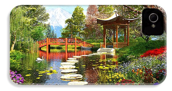 Gardens Of Fuji IPhone 4s Case by Dominic Davison