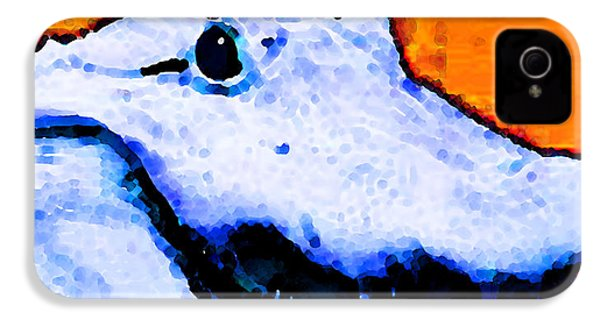 Gator Art - Swampy IPhone 4s Case by Sharon Cummings