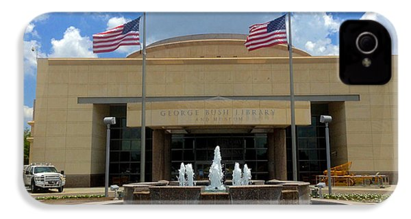George Bush Library And Museum IPhone 4s Case by Art Spectrum