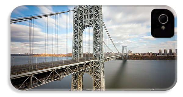 George Washington Bridge IPhone 4s Case by Greg Gard