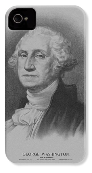 George Washington IPhone 4s Case by War Is Hell Store