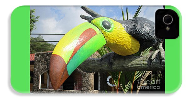 Giant Toucan IPhone 4s Case by Randall Weidner