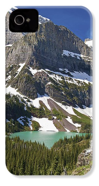 Glacier Backcountry IPhone 4s Case by Gary Lengyel