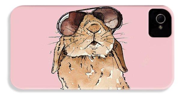 Glamorous Rabbit IPhone 4s Case by Katrina Davis