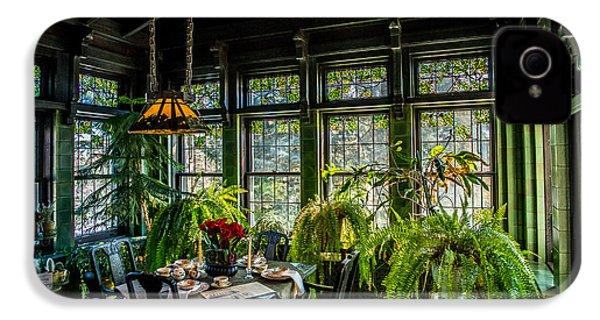 Glensheen Mansion Breakfast Room IPhone 4s Case by Paul Freidlund