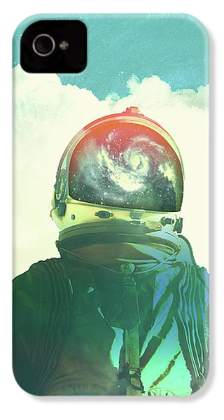 God Is An Astronaut IPhone 4s Case by Fran Rodriguez