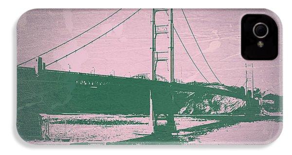 Golden Gate Bridge IPhone 4s Case by Naxart Studio