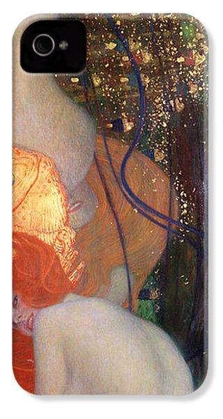 Goldfish IPhone 4s Case by Gustav Klimt