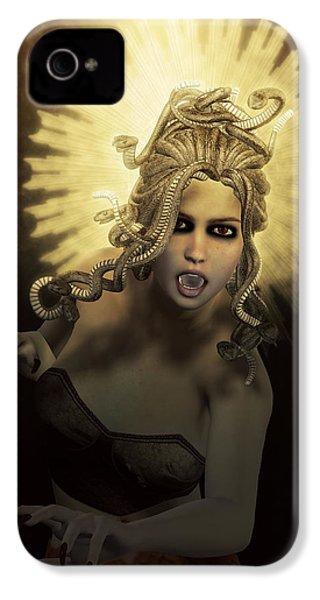 Gorgon Medusa IPhone 4s Case by Joaquin Abella