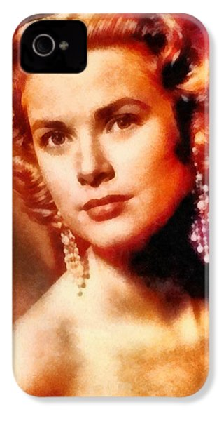 Grace Kelly, Vintage Hollywood Actress IPhone 4s Case