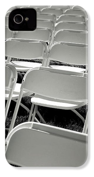Graduation Day- Black And White Photography By Linda Woods IPhone 4s Case by Linda Woods