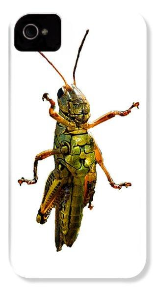 Grasshopper II IPhone 4s Case by Gary Adkins