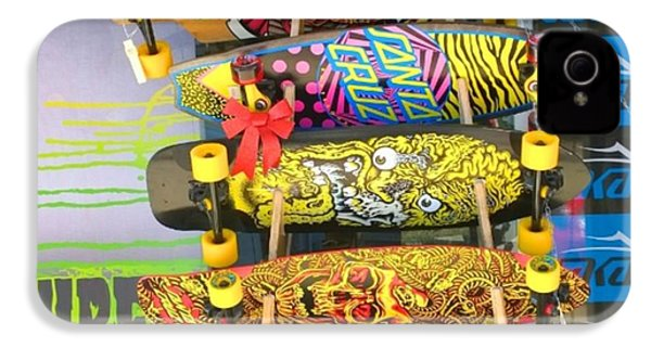 Great Art On These Skateboards! IPhone 4s Case by Shari Warren
