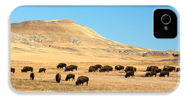 Great Plains Buffalo IPhone 4s Case by Todd Klassy