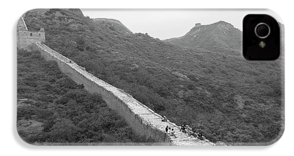 IPhone 4s Case featuring the photograph Great Wall 4, Jinshanling, 2016 by Hitendra SINKAR